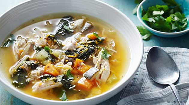 Chicken Vegetable Soup Recipes  Hearty Chicken and Ve able Soup Recipe
