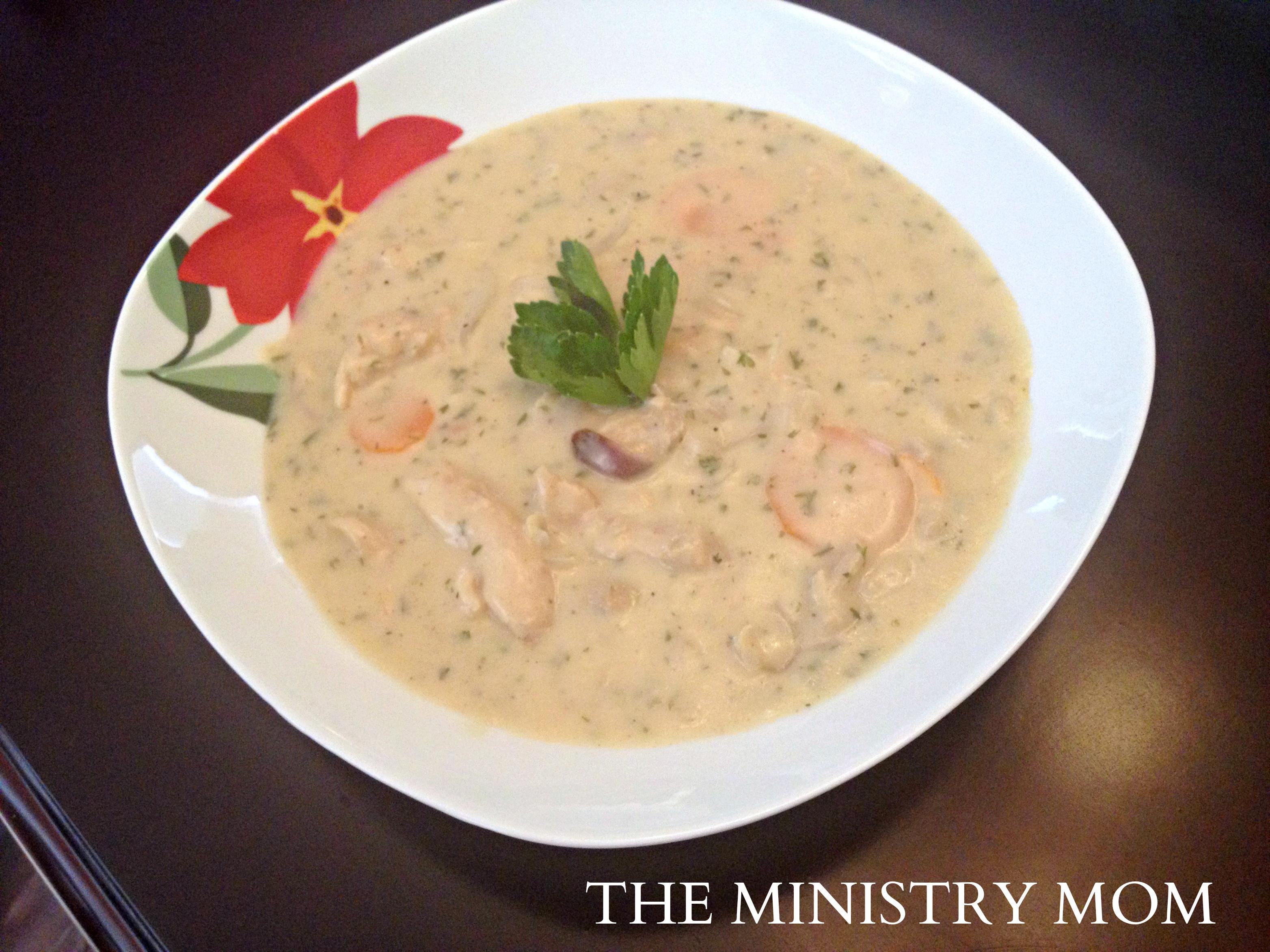 Chicken Velvet Soup  The Ministry Mom