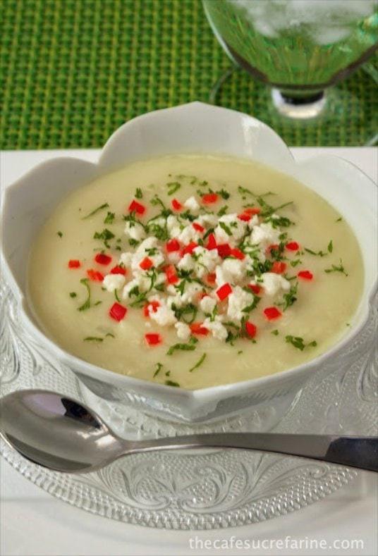 Chicken Velvet Soup  Winter White Velvet Soup