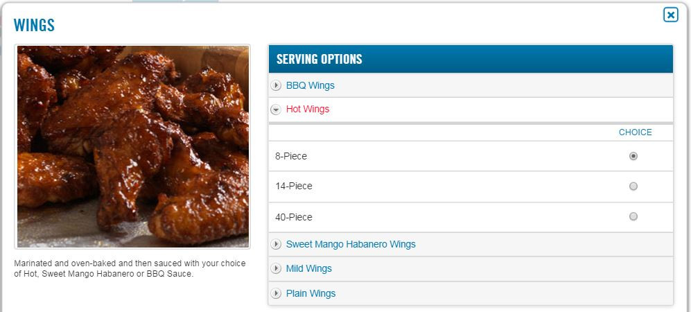 Chicken Wings Nutrition  How Many Calories Are In Buffalo Chicken Wings 84 KCALs