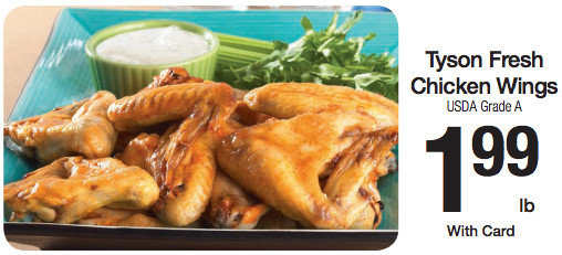 Chicken Wings On Sale  Tyson Chicken Wings Sale To Match Our Printable Coupon