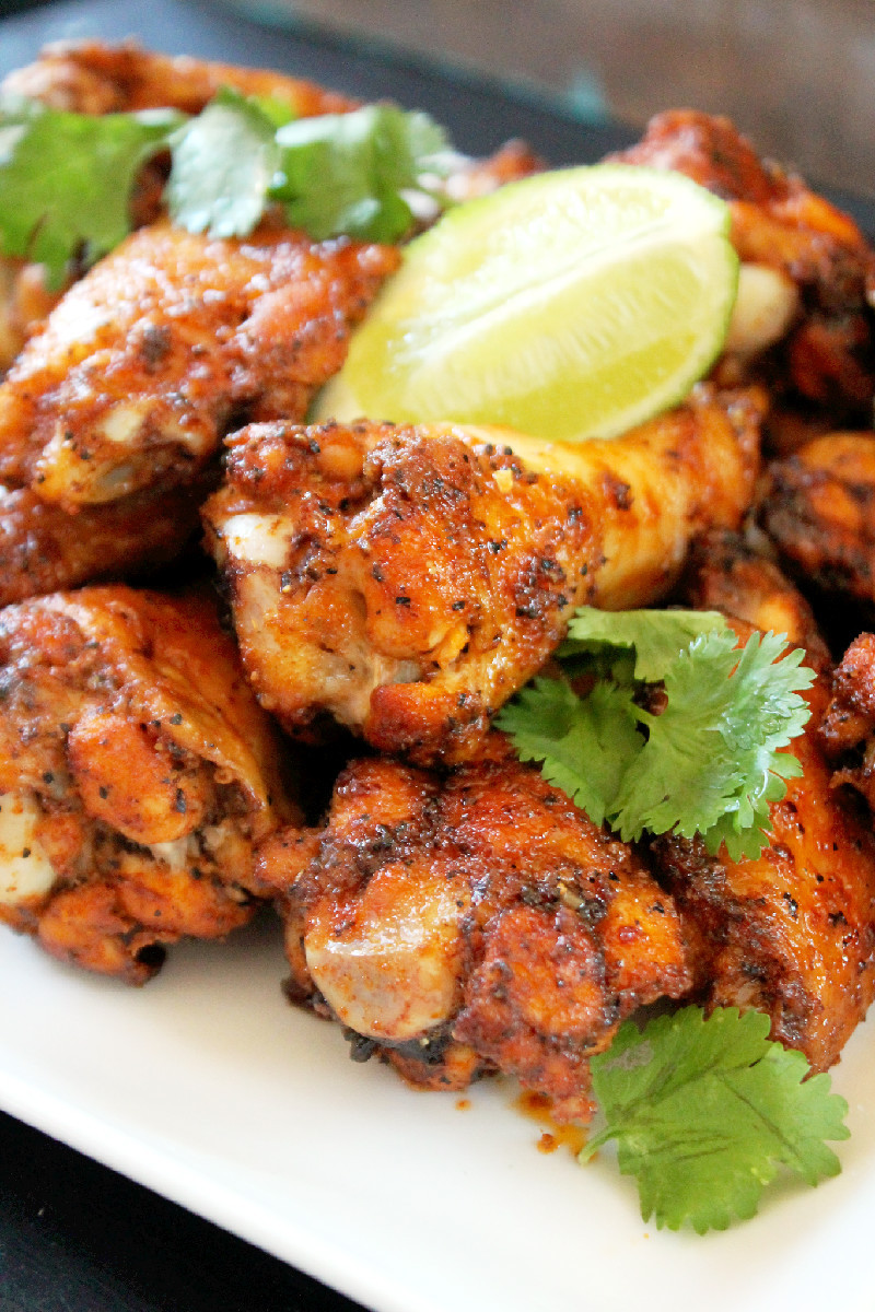 Chicken Wings Recipe Baked  Baked Thai Chicken Wings Creole Contessa