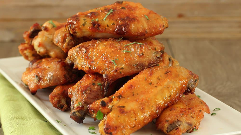 Chicken Wings Recipe Baked  Baked Chicken Wings How To from Pillsbury