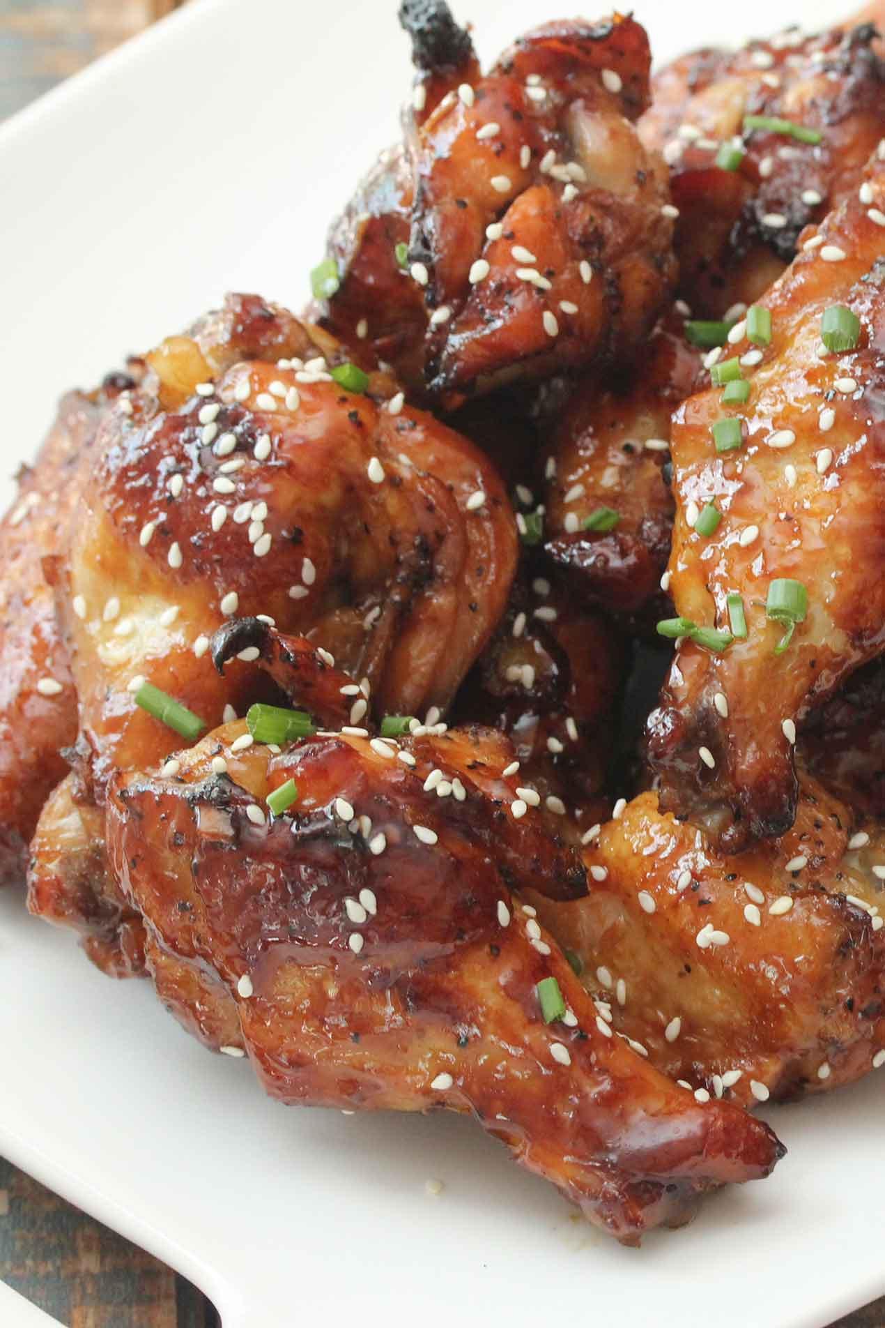 Chicken Wings Recipe  teriyaki baked chicken wings