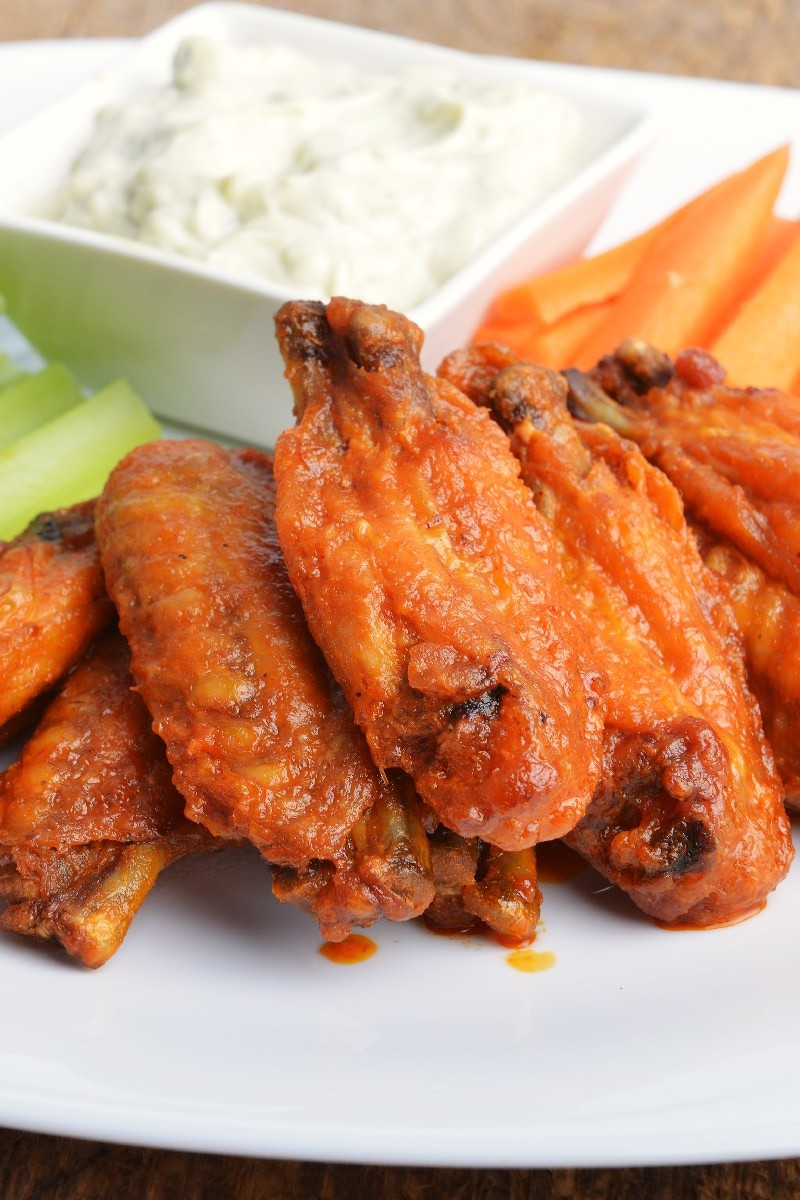 Chicken Wings Restaurant  Restaurant Style Buffalo Chicken Wings Recipe — Dishmaps
