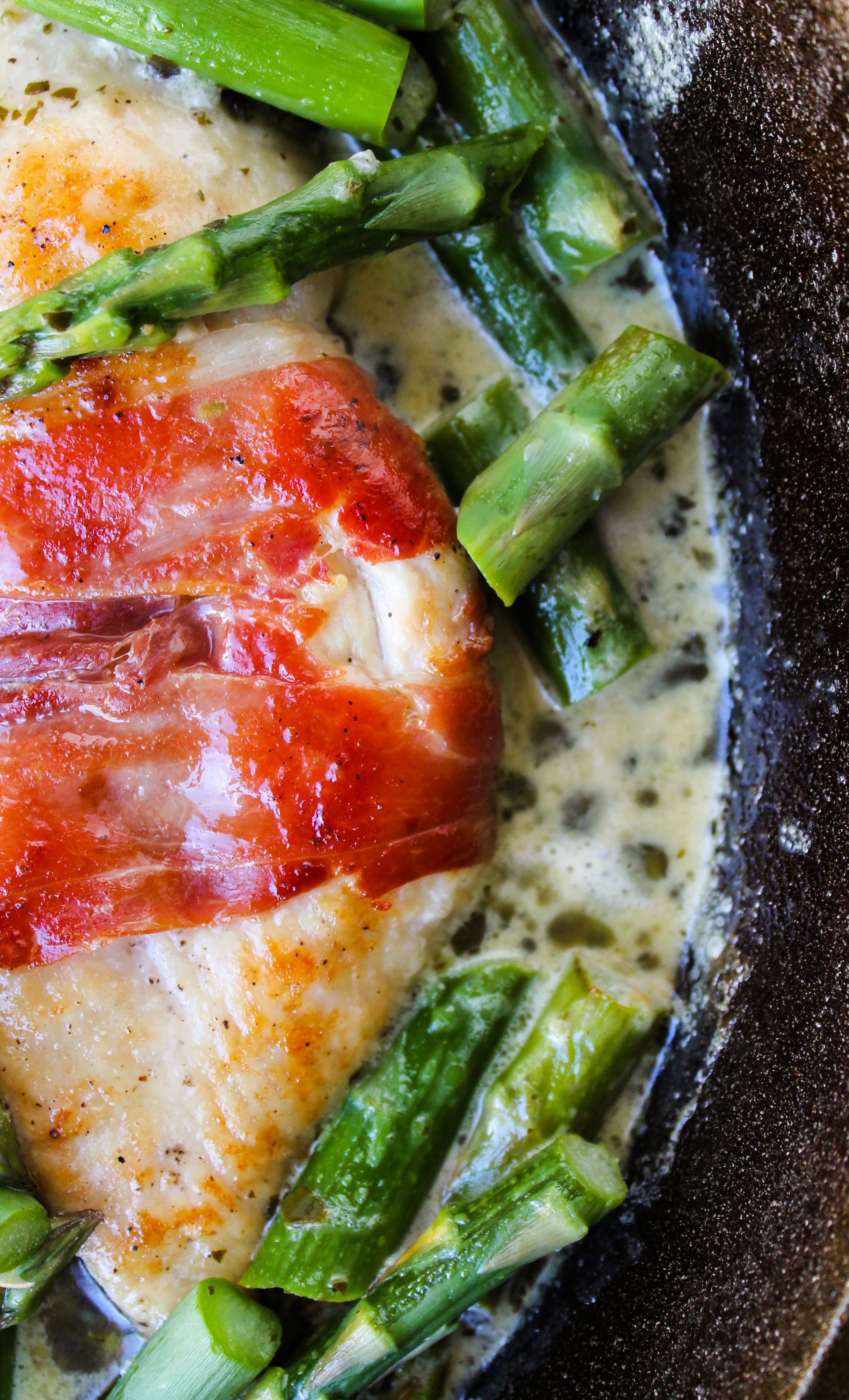 Chicken With Asparagus  Prosciutto Wrapped Chicken with Asparagus The Food Charlatan