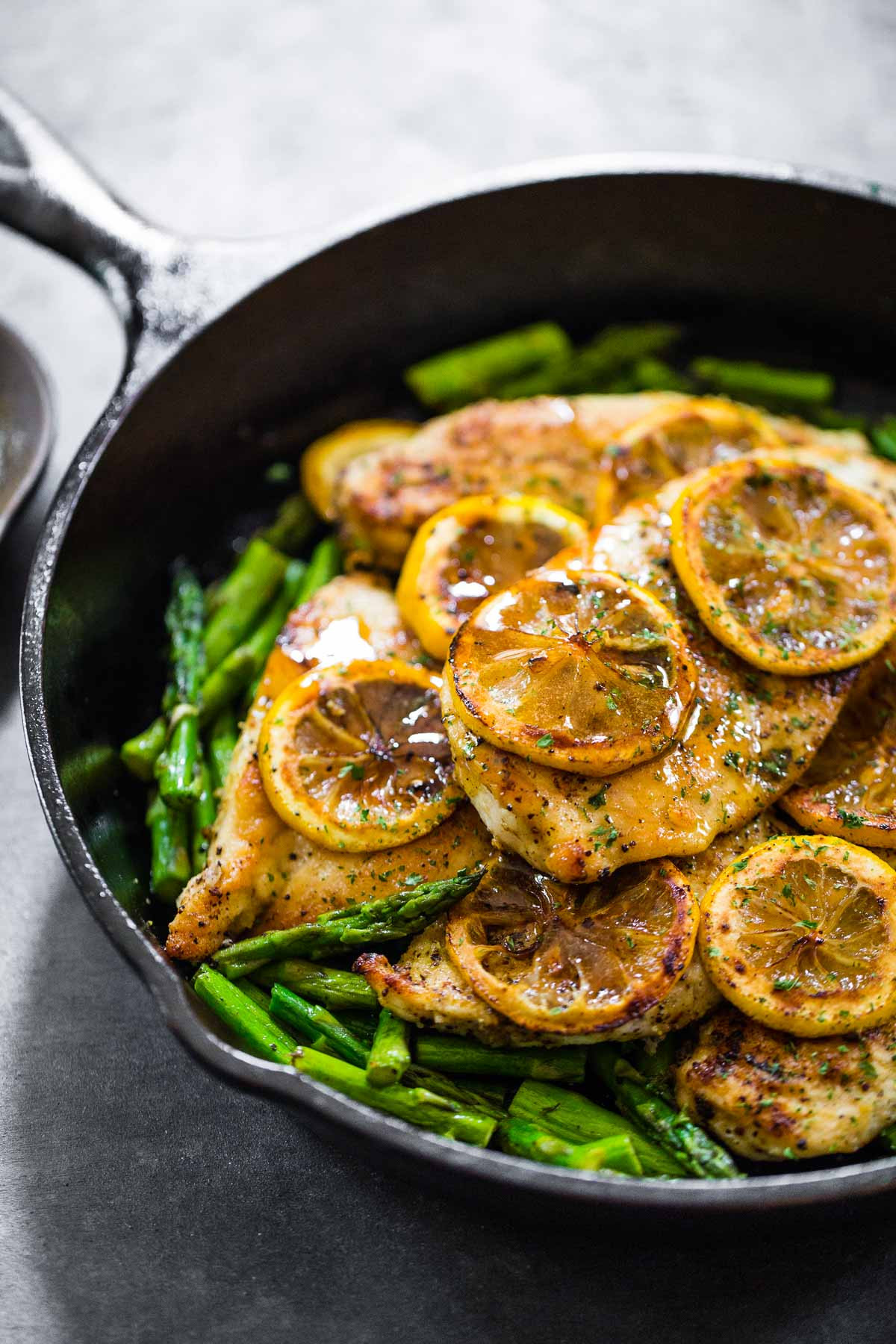 Chicken With Asparagus  5 Ingre nt Lemon Chicken with Asparagus Recipe Pinch