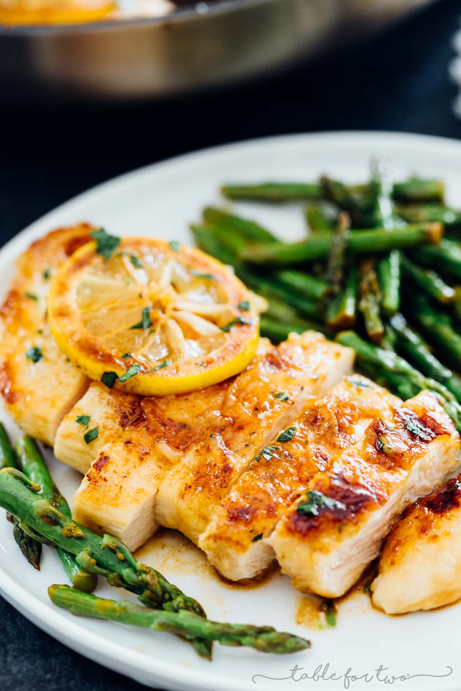 Chicken With Asparagus  Honey Butter Lemon Chicken with Asparagus Seasonal