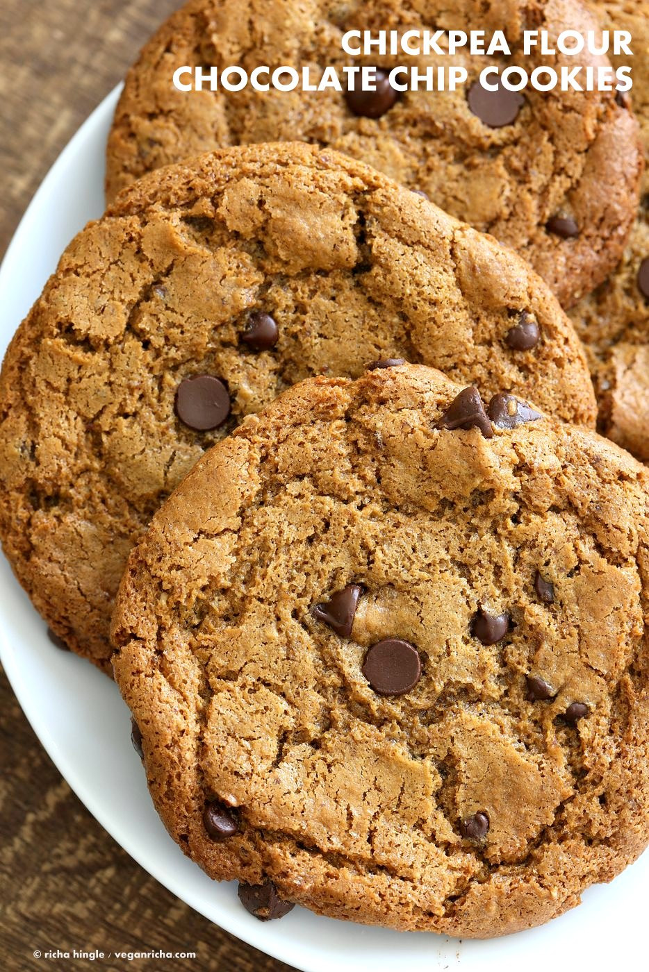 Chickpea Chocolate Chip Cookies  Chickpea Flour Chocolate Chip Cookies Recipes