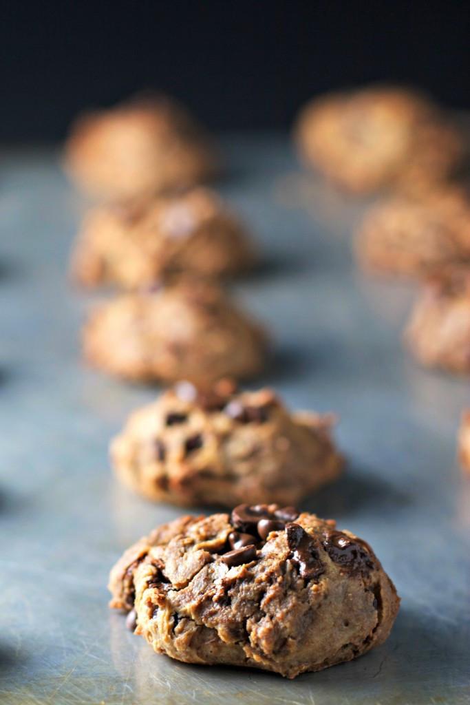 Chickpea Chocolate Chip Cookies  chickpea chocolate chip cookies vegan gluten free