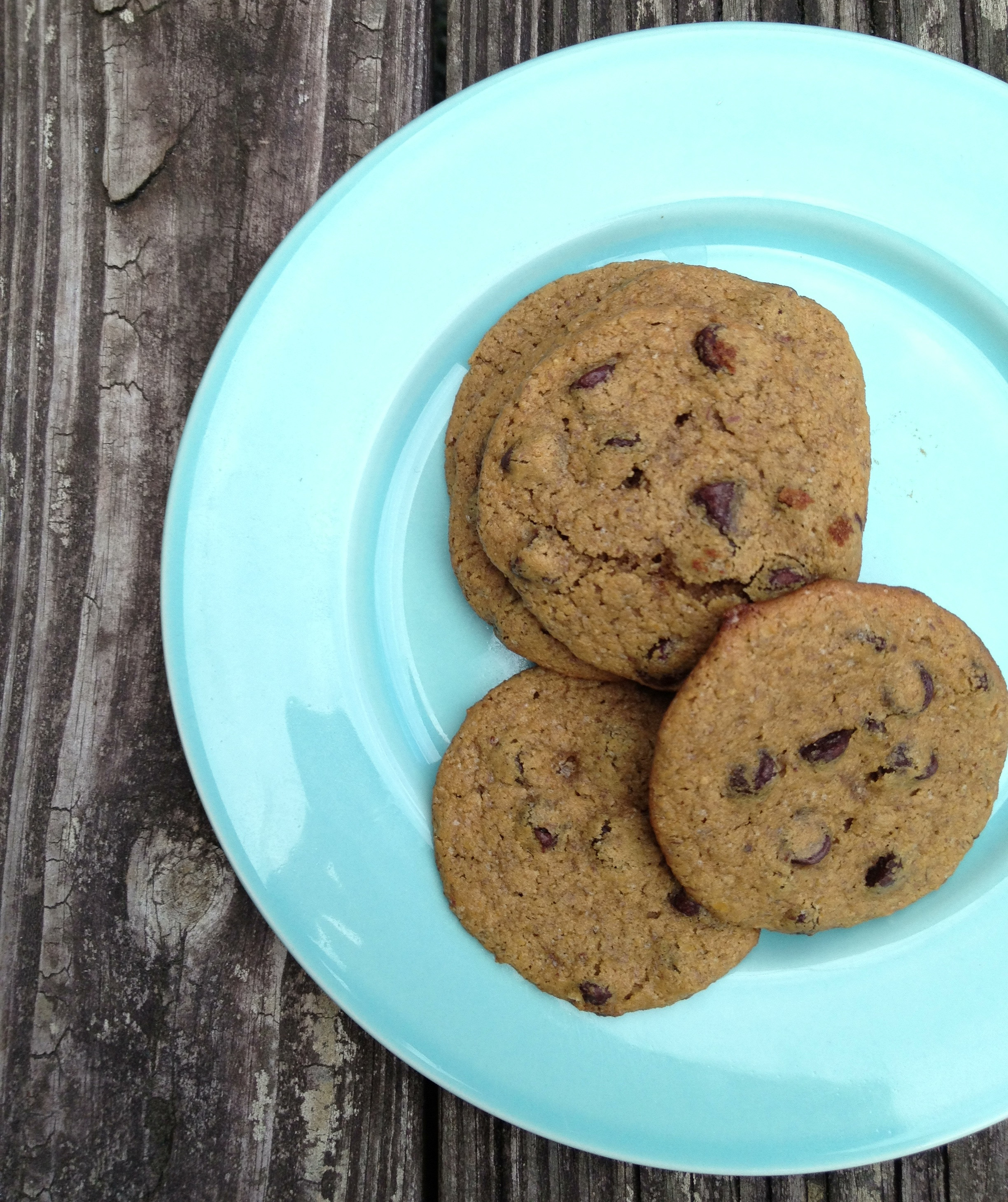 Chickpea Chocolate Chip Cookies  Healthy Chickpea Chocolate Chip Cookies