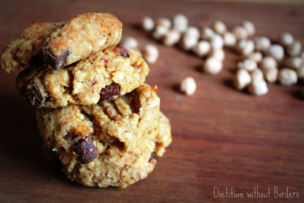 Chickpea Chocolate Chip Cookies  Chickpea chocolate chip cookies Dietitian without Borders