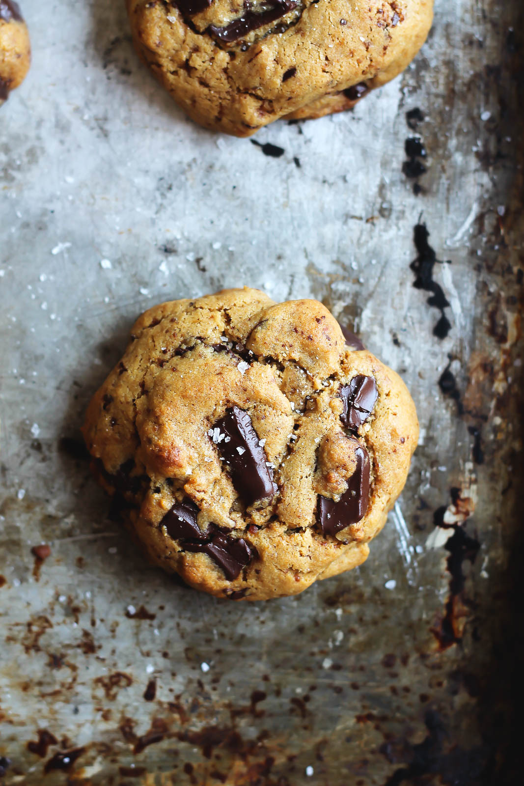 Chickpea Chocolate Chip Cookies  Chickpea Flour Chocolate Chip Cookies