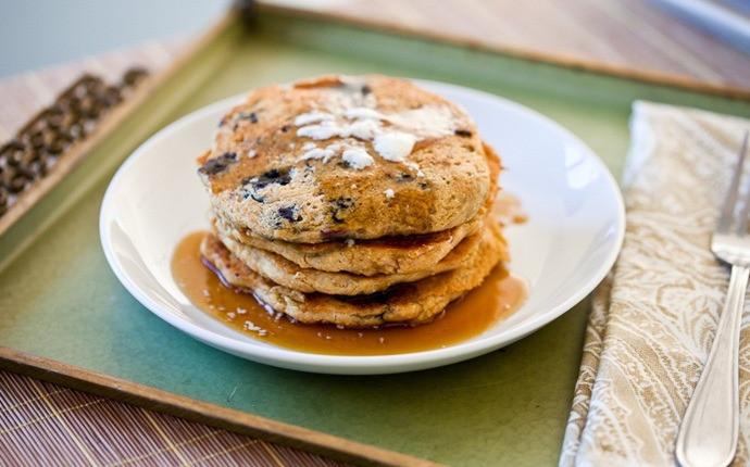 Chickpea Flour Pancakes  27 Easy healthy pancake recipes