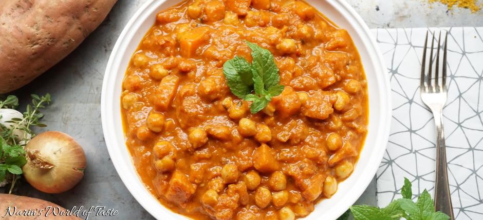 Chickpea Potato Curry  chickpea potato curry