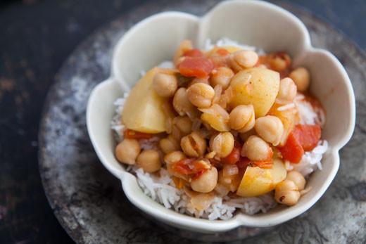 Chickpea Potato Curry  Chickpea Potato Curry Recipe