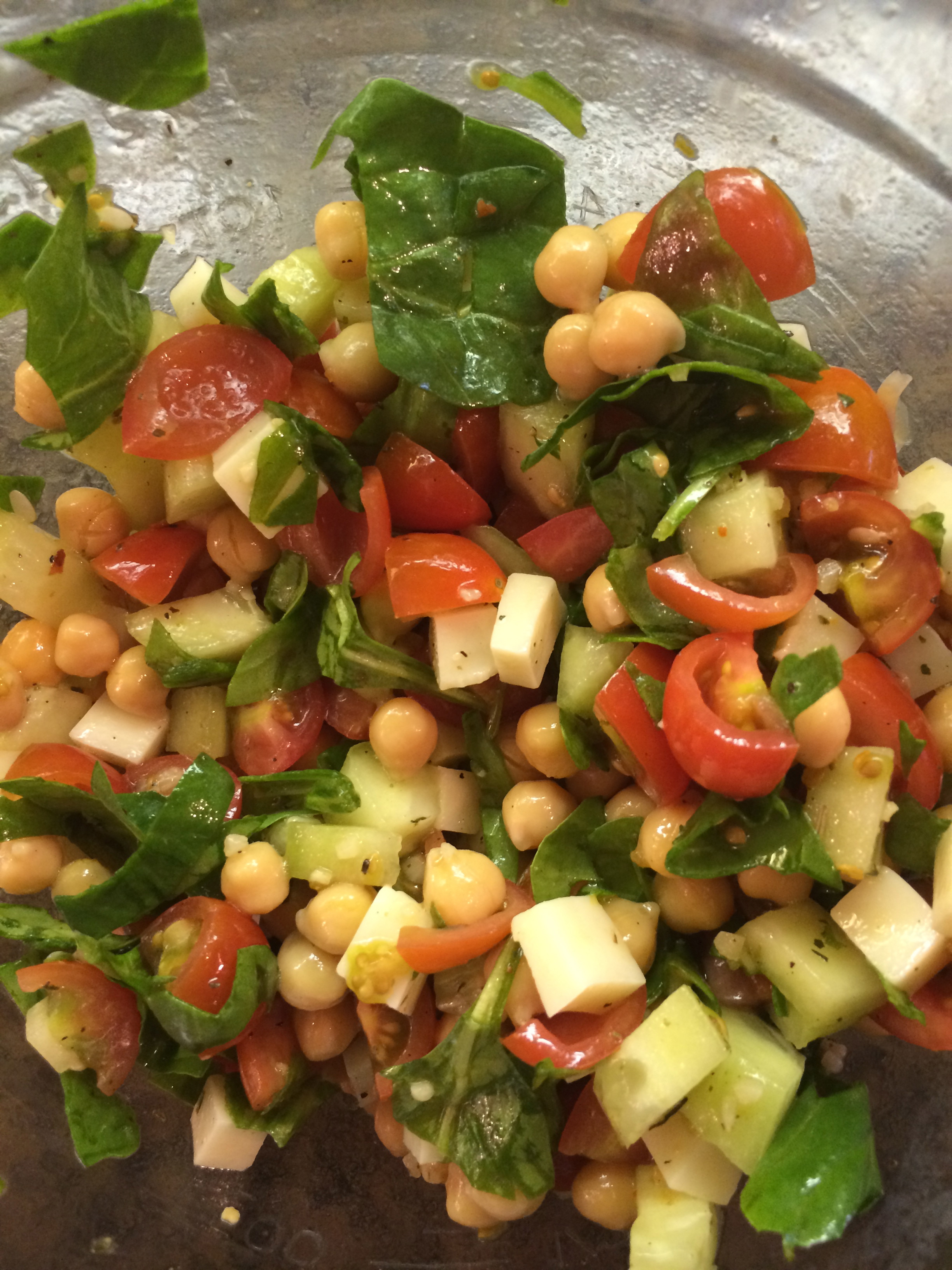 Chickpea Salad Recipes  Tomato and Chickpea Salad Beach Ready Now