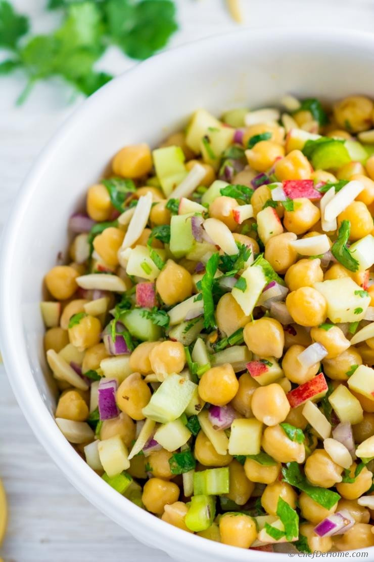 Chickpea Salad Recipes  Apple Chickpea Salad Recipe