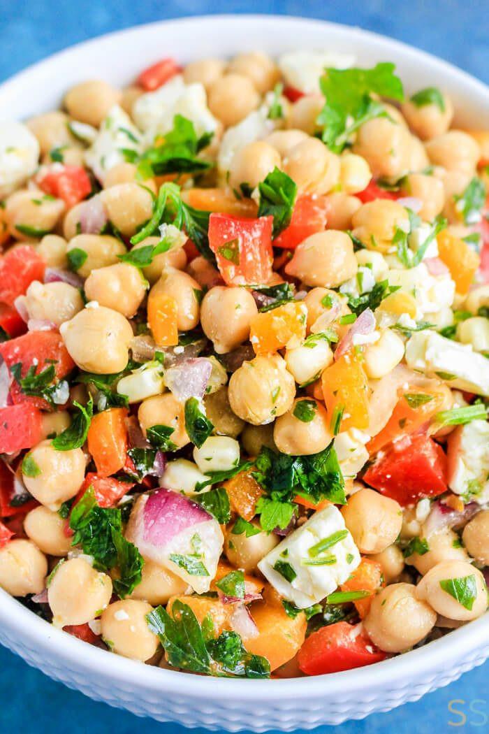 Chickpea Salad Recipes  Rainbow Chickpea Salad Recipe