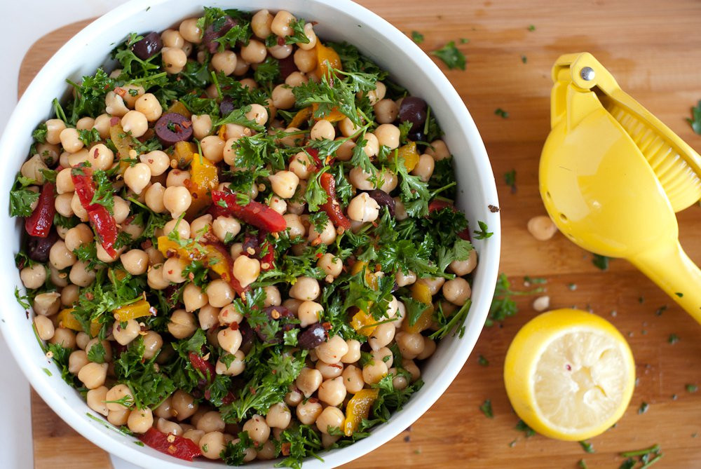 Chickpea Salad Recipes  Chickpea Salad Cookie and Kate
