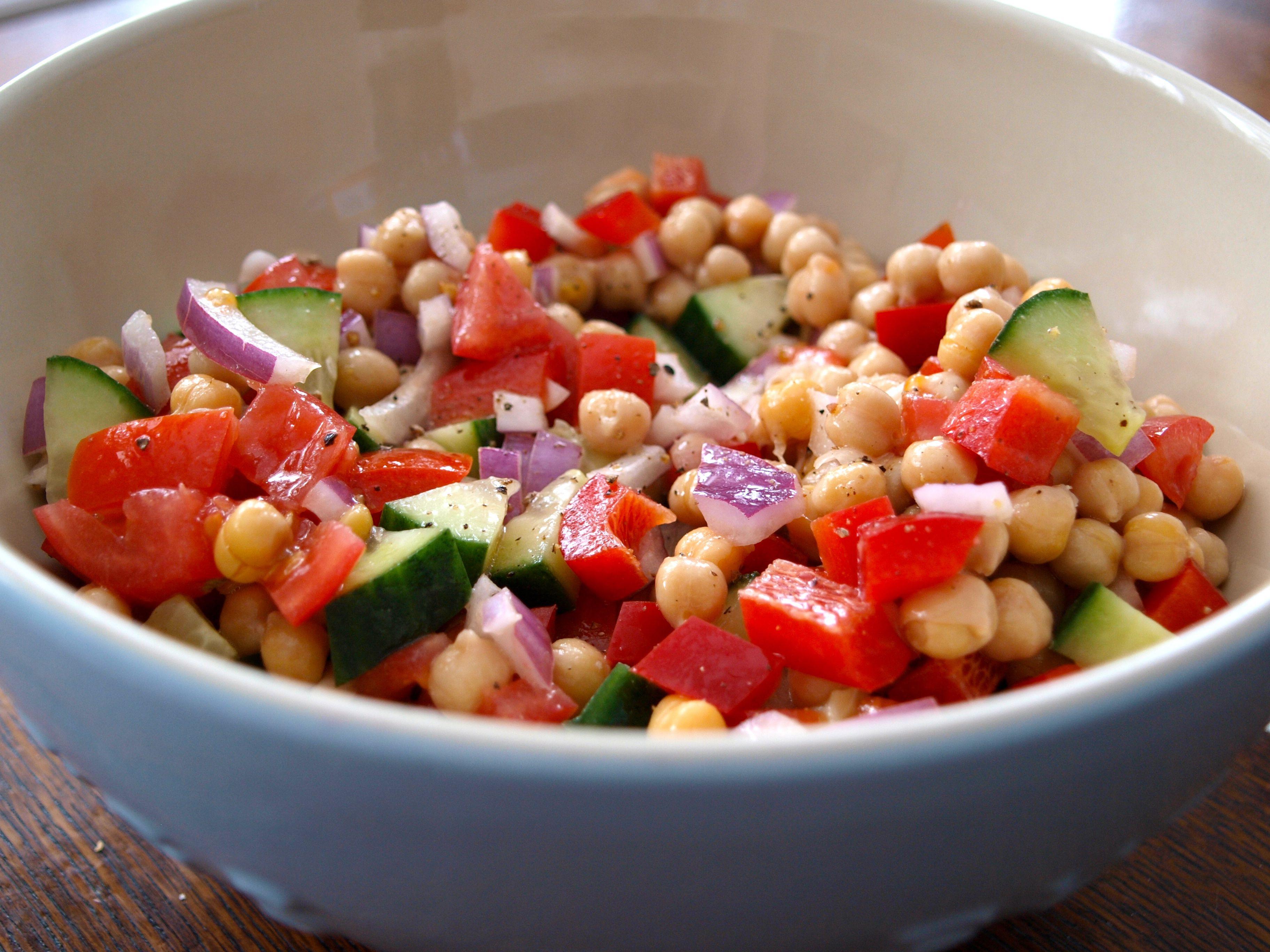 Chickpea Salad Recipes  Chickpea Salad Life In Pleasantville