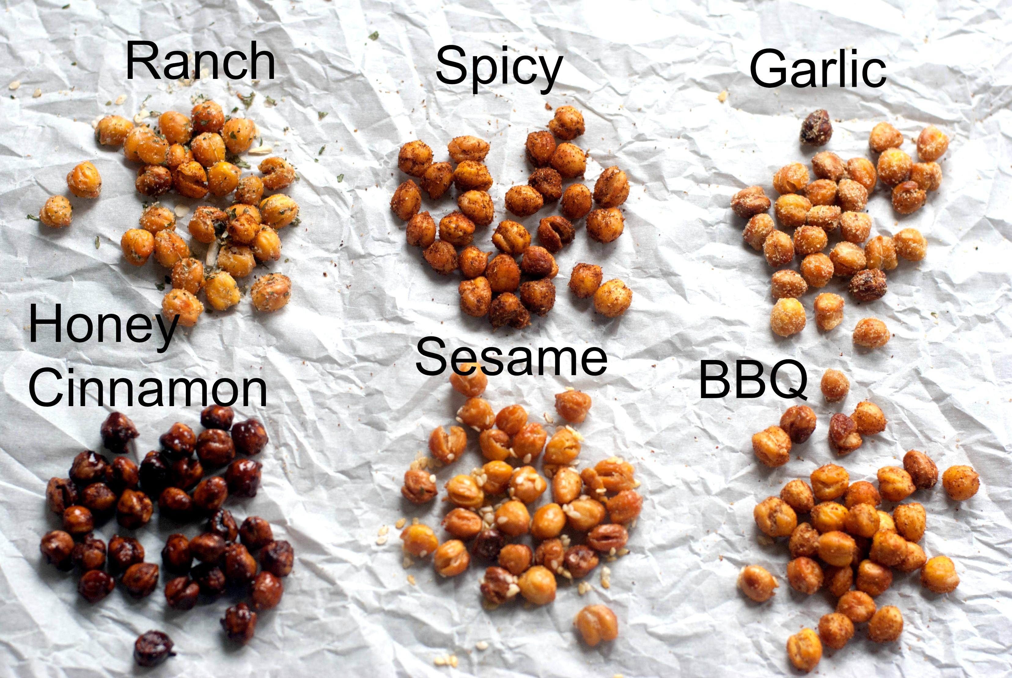 Chickpea Snacks Recipes  Roasted Chickpeas Recipe TGIF This Grandma is Fun