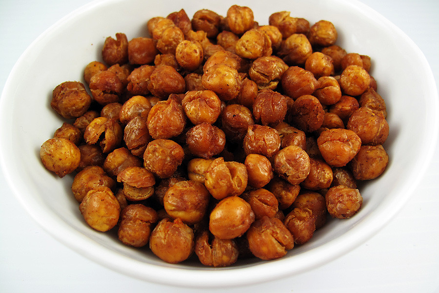 Chickpea Snacks Recipes  Spiced Chickpea Snackers Recipe