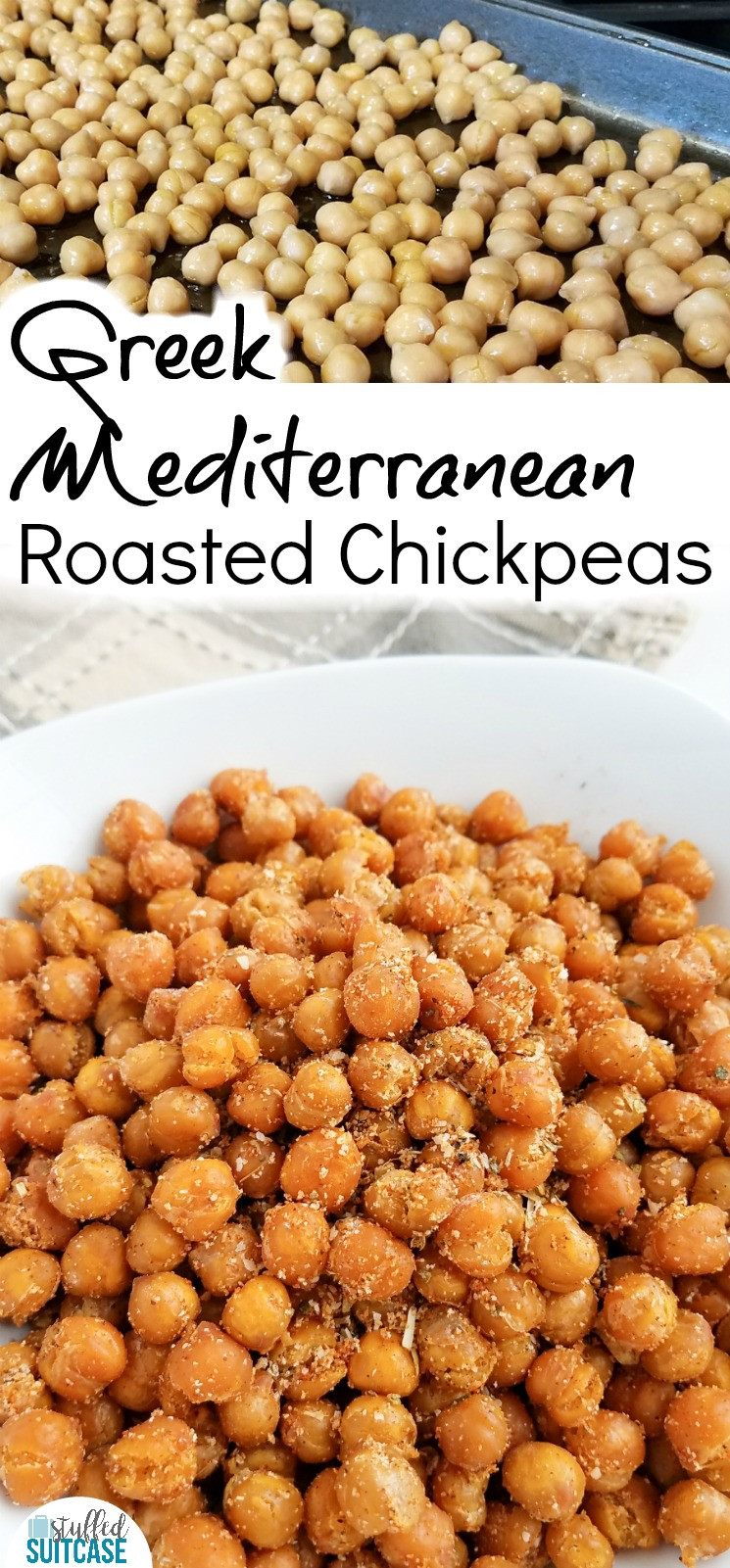 Chickpea Snacks Recipes  Recipe for Roasted Chickpeas The Perfect Travel Snack