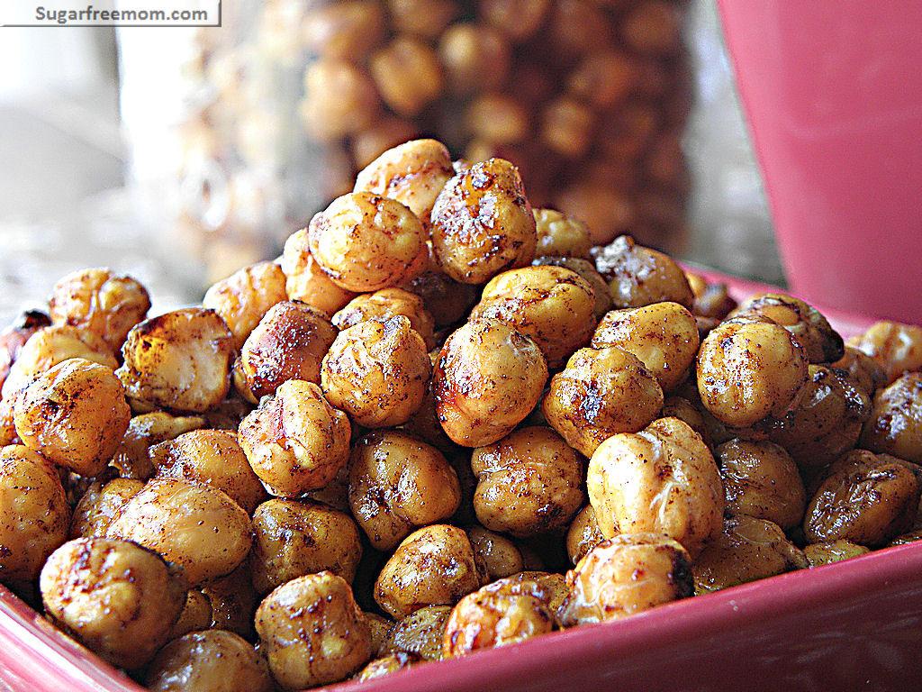 Chickpea Snacks Recipes  Crispy &Sweet Garbanzo Bean Snack