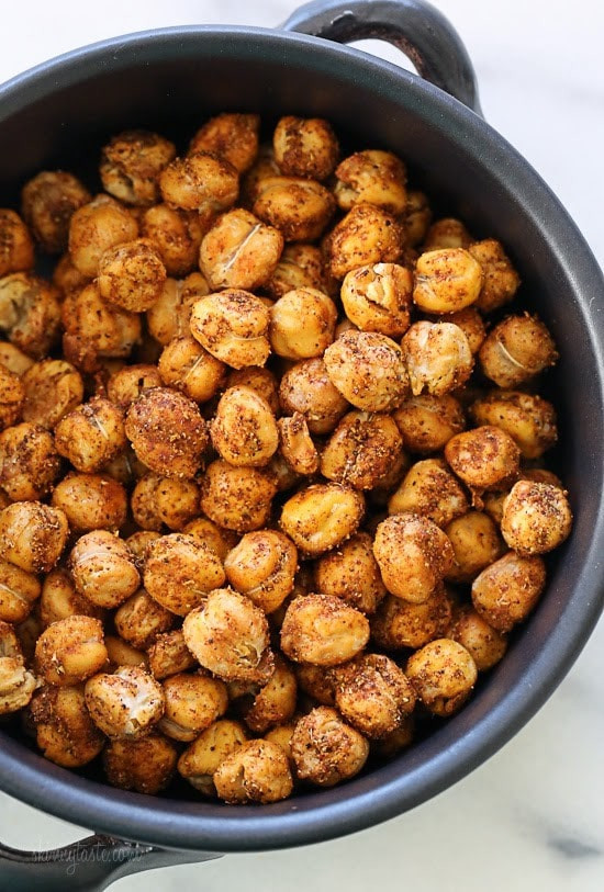 Chickpea Snacks Recipes  Roasted Chickpea Snack