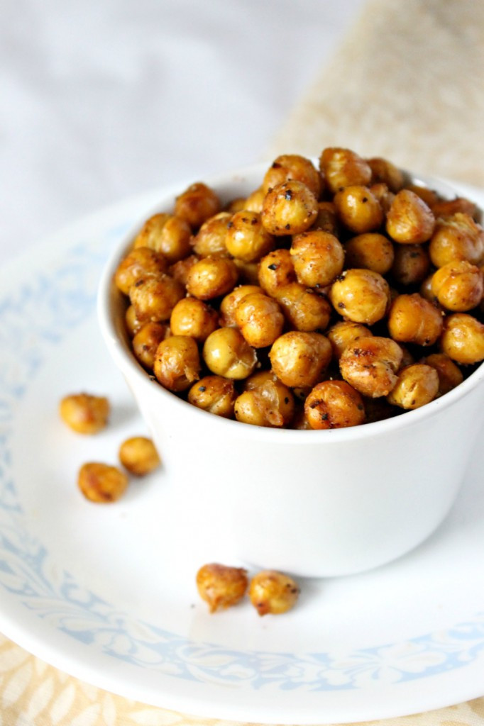 Chickpea Snacks Recipes  Spicy Roasted Chickpeas