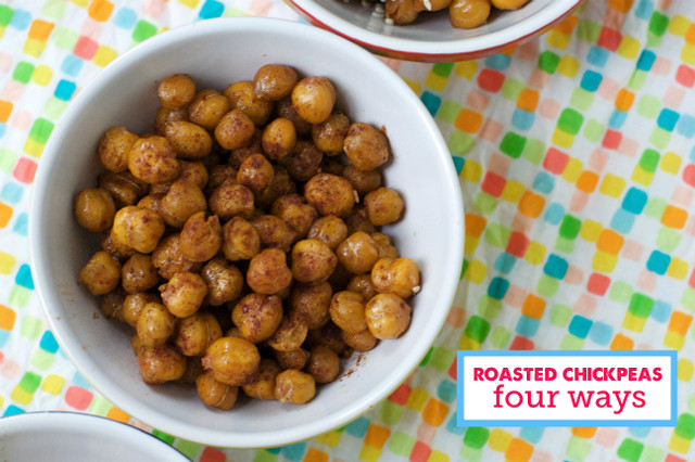 Chickpea Snacks Recipes  Healthy Snack Roasted Chickpeas Modern Parents Messy Kids