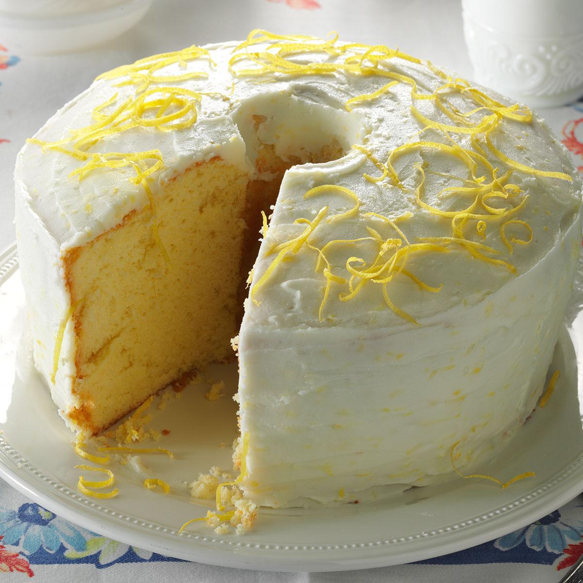 Chiffon Cake Recipe  Lemon Chiffon Cake Recipe