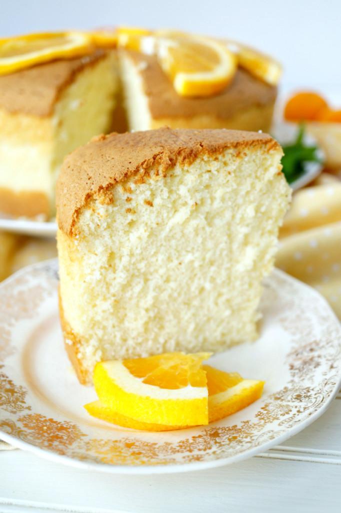 Chiffon Cake Recipe  citrus chiffon cake