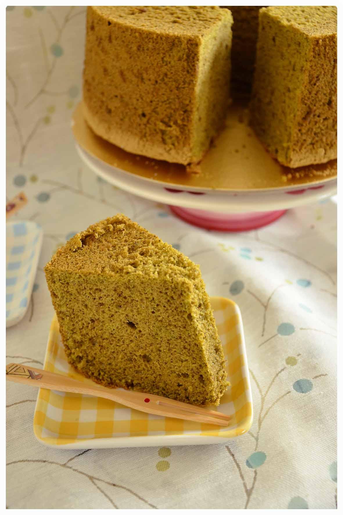 Chiffon Cake Recipe  Matcha chiffon cake