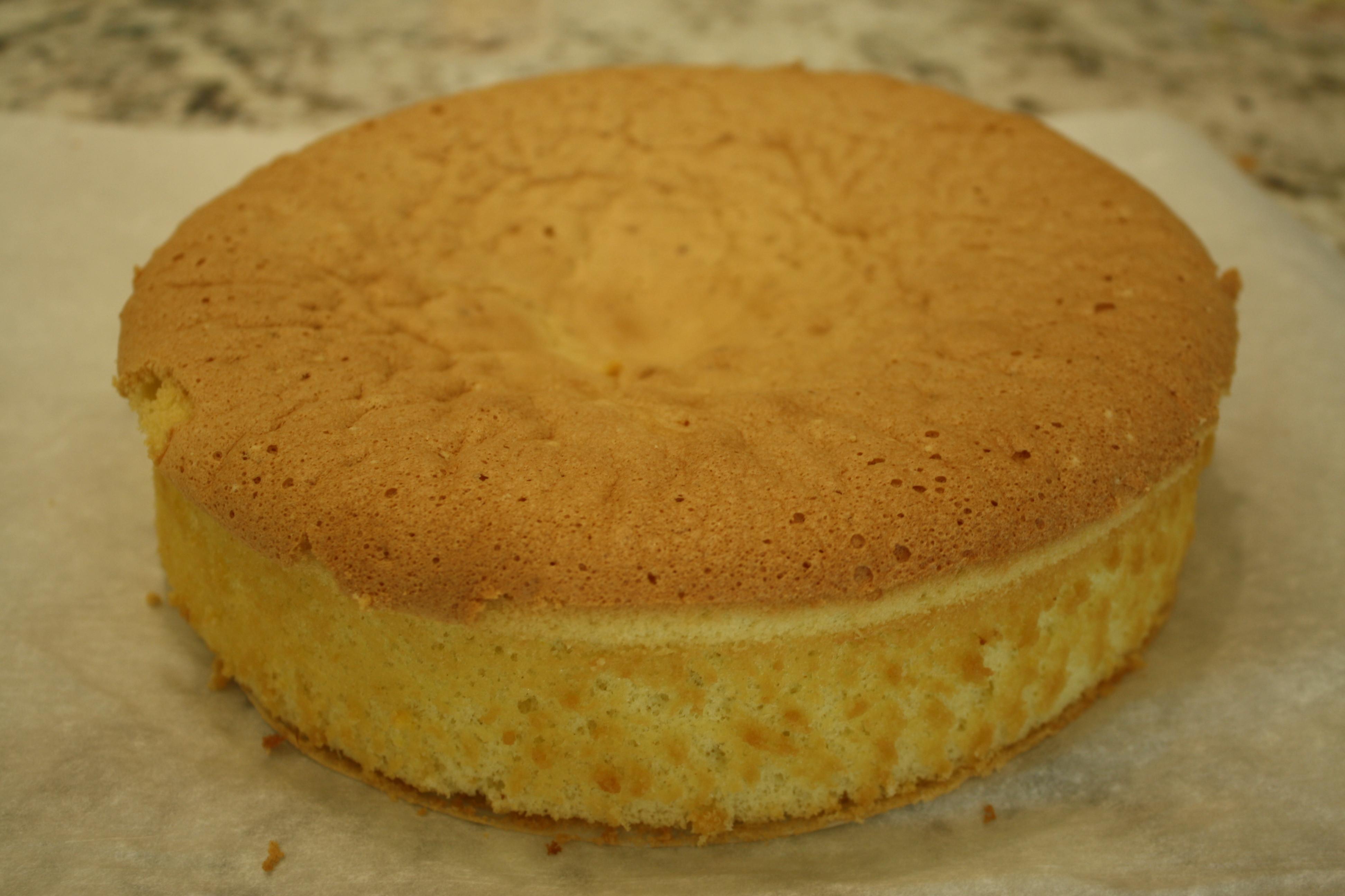Chiffon Cake Recipe  Cakery Friday Vanilla Chiffon Cake