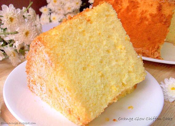 Chiffon Cake Recipe  Orange Chiffon Cake Recipe The Answer is Cake