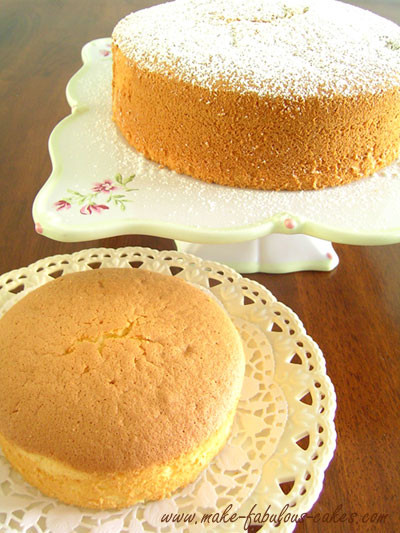 Chiffon Cake Recipe  Light and Fluffy Chiffon Cake