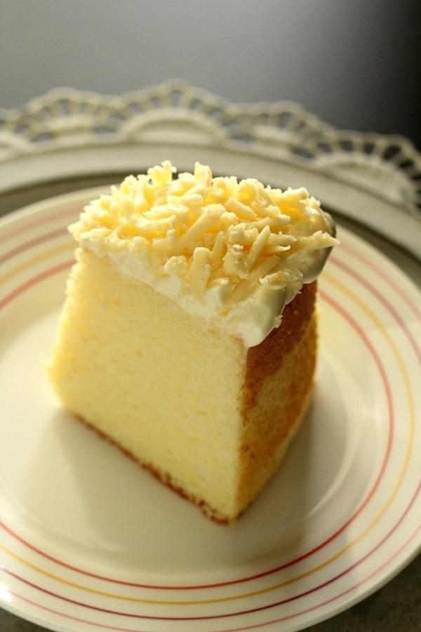 Chiffon Cake Recipe  Parmesan Chiffon Cake