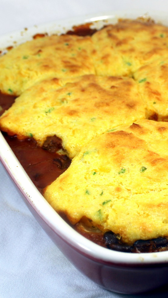 Chili Cornbread Casserole  52 Ways to Cook Chili Cornbread Casserole Freezable