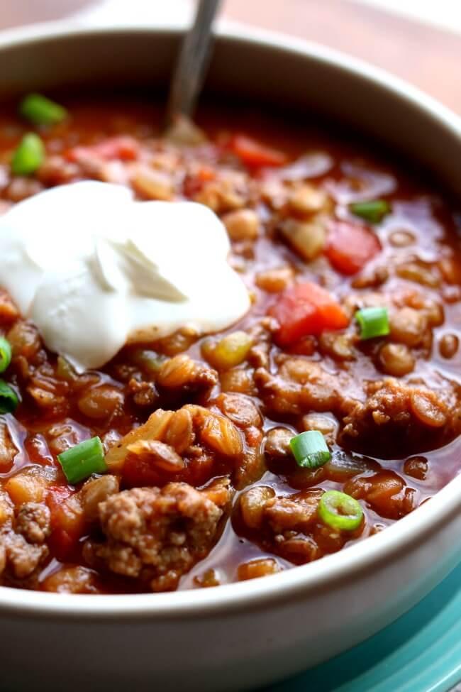 Chili Recipe Turkey  ground turkey chili