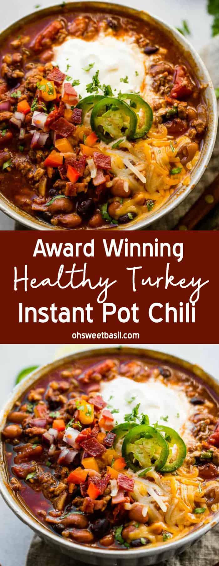 Chili Recipe Turkey  best turkey chili recipe winner