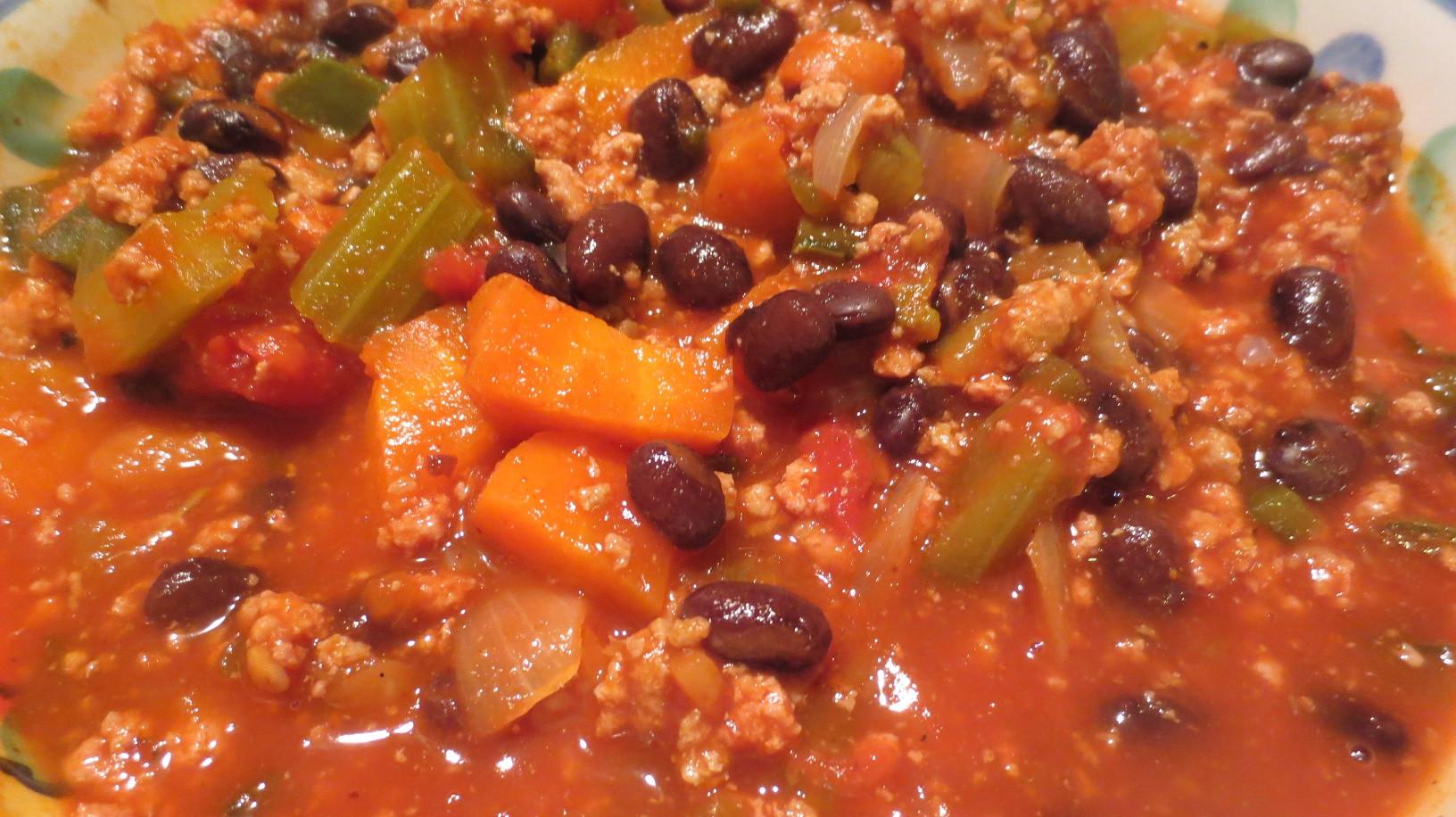 Chili Recipe Turkey  Turkey Chili Recipe — Dishmaps