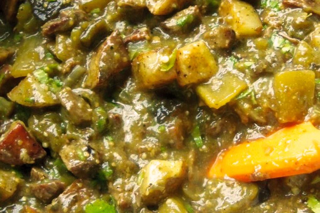 Chili Verde Pork  Pork Chile Verde with Potatoes Hispanic Kitchen