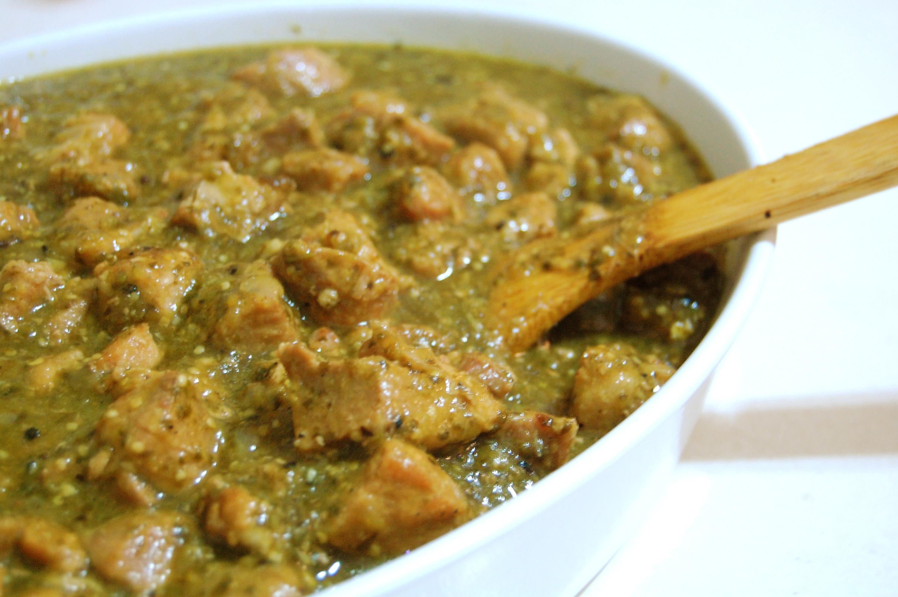 Chili Verde Pork  Chicken Chile Verde