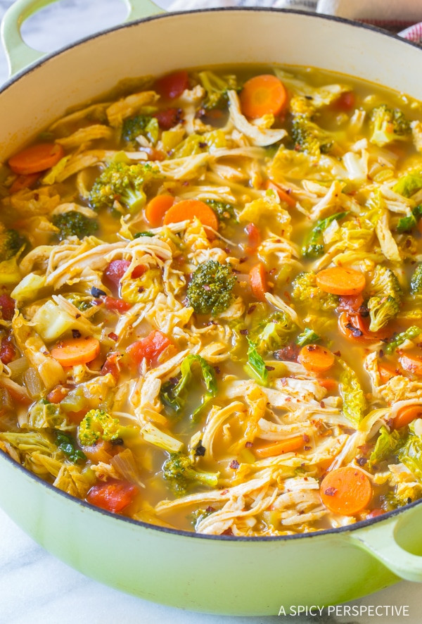 Chili'S Southwest Chicken Soup  Southwest Chicken Detox Soup Recipe A Spicy Perspective