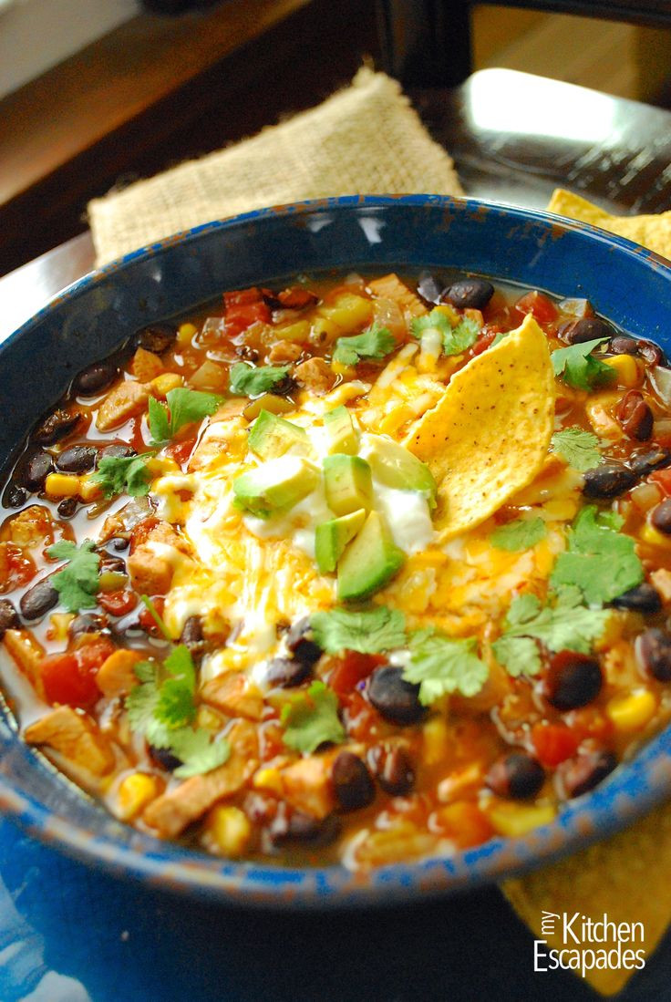 Chili'S Southwest Chicken Soup  17 Best images about Recipes soup on Pinterest