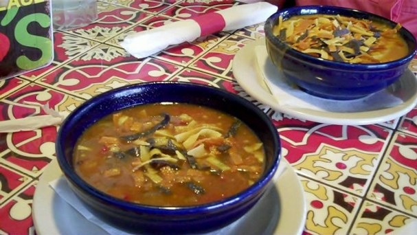 Chili'S Southwest Chicken Soup  Southwest Chicken and Sausage Soup