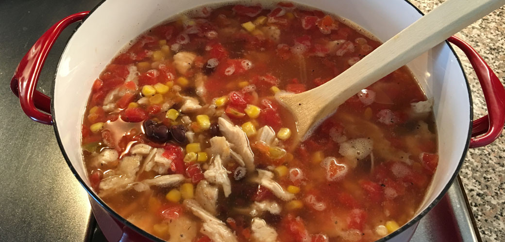 Chili'S Southwest Chicken Soup  Quick and Easy Southwest Chicken Soup HomesMSP