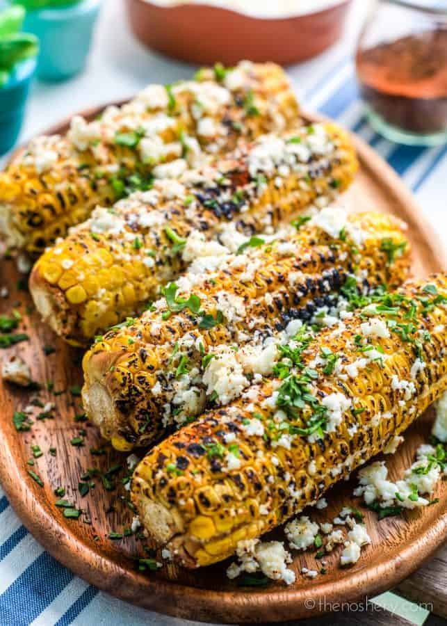 Chilis Roasted Street Corn  Elote Corn Mexican Street Corn